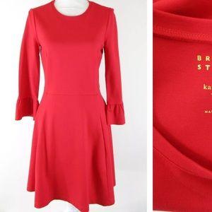 Kate Spade Broome Street Ponte Fit & Flare dressXL